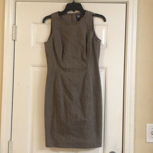 Worth Dress Size 2 Tan Studded Detail Sleeveless